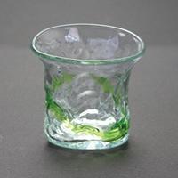 三角でこぼこグラス